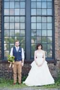 Basilica Hudson Wedding Ruffled