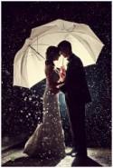 Quand la pluie sublime les photos de mariage - Mariage.com - Robes, Déco, Inspirations, Témoignages, Prestataires 100% Mariage