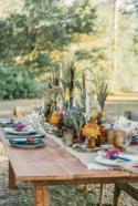 Wild and Eclectic Autumnal Wedding Ideas - Wedding Sparrow
