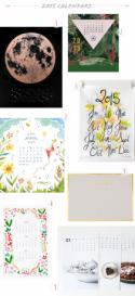 Seasonal Stationery: 2015 Calendars, Part 2