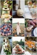 Fruits of Fall; Pumpkins, Persimmons and Pomegranates for Your Fall Wedding