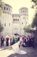Krys & Kayla's fairy tale castle wedding
