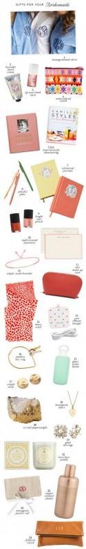 Bridesmaid Gift Guide