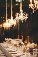 27 Glamorous Chandeliers Wedding Decor Ideas
