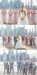 Classic White And Pink Wedding