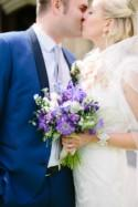 Natural Beach & Boat Trip Lavender Filled Wedding