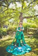 Colourful Norwegian Wedding with a Bride in a Moomin Valley Wedding Dress: Ina & Åsmund