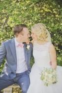 Pretty Homemade Country Garden Marquee Wedding