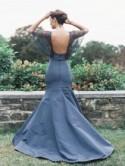 Blue Wedding Dress Inspiration from Sareh Nouri