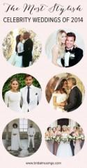10 Best Celebrity Weddings 2014 - Bridal Musings Wedding Blog