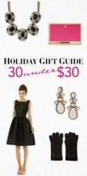 Holiday Gift Guide: 30 Under $30 - Belle the Magazine . The Wedding Blog For The Sophisticated Bride