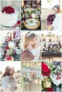 Red, Green and Gold, Christmas Wedding Inspiration