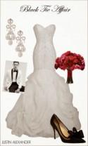 Wedding Day Look: Black Tie Affair - Belle the Magazine . The Wedding Blog For The Sophisticated Bride