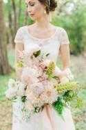 English Garden Elegant Wedding Inspiration
