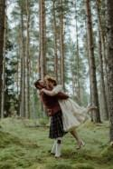 Colourful Vintage Wedding in the Scottish Highlands