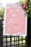 Sweet Tooth Peach Wedding