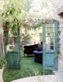 Stylish Backyard Vow Renewal: Tina + Brian