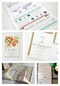 Top 5 Etsy Wedding Invitations...