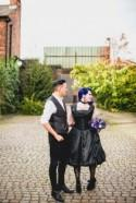 Jo & Spig's goth-ish geeky intimate wedding