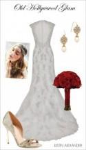 Wedding Day Look: Old Hollywood Glam