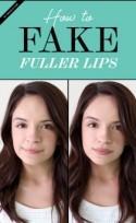 How to Fake Fuller Lips