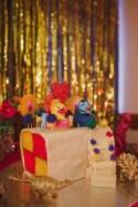 Dinosaur Glitter Explosion Wedding