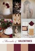 Valentine's Wedding Palette Inspired by Marsala