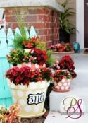 How to Make Dotted & Tiered Terracotta Planters - DIY & Crafts - Handimania