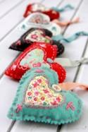How to Make Lavender Fabric Hearts - Sew - Handimania