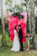 Bright And Modern Garden Wedding Inspiration