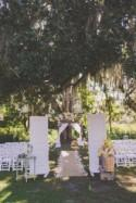 Earthy Rustic Natural Outdoor Florida Wedding with Wheat Bouquets