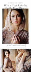 Instagram Giveaway! Emily Riggs Lace Robe
