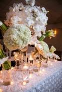 Navy Blue + White Elegant Wedding - Belle The Magazine