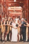 Alabama Wedding with a Vintage Inspired Bridal Party