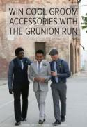 Win a Dapper Wedding Day Look with The Grunion Run