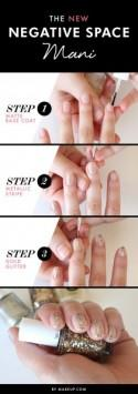 The NEW Negative Space Mani