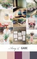 Amy and Gabriels Wedding Inspiration Board