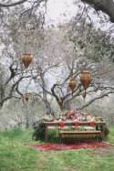 Bohemian Garden Wedding with Color