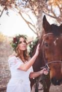 Romantic And Boho-Inspired Woodland Inspiration With Marsala Tones