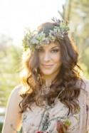 Glamourous Forest Wedding Shoot by Andie Freemand