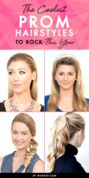 The Coolest Prom Hairstyles to Rock This Year