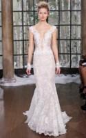 31 Feminine And Enchanting V-Neck Wedding Dresses