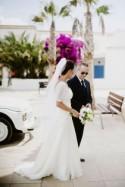 Chic Mediterranean Beachside Wedding