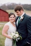 Rustic Winter Barn Wedding (Organised in Just 3 Weeks
