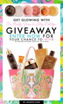 Get Glowing With The Body Shop & Lilly Pulitzer Giveaway