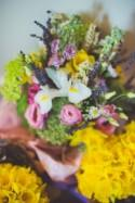 Multicoloured Relaxed Country Spring Farm Wedding - Whimsical...