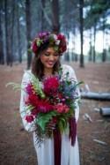 Jewel Toned Bohemian Wedding Ideas - Polka Dot Bride