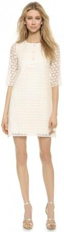 Leur Logette Daisy Embroidered Long Sleeve Dress