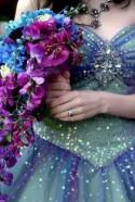 "Wedding Purple And Blue ""Tie Dye Dendrobium Orchid"" Alisha"