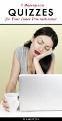 5 Makeup.com Quizzes for Your Inner Procrastinator